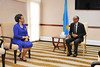 Meeting with the First Lady of Ethiopia - Kigali, 16 September 2014