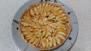 Spiced Two-Apple Tart