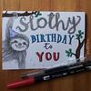 Slothy Birthday