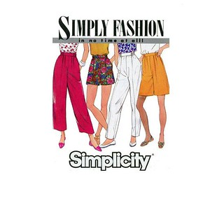 vintage simplicity shorts/trousers