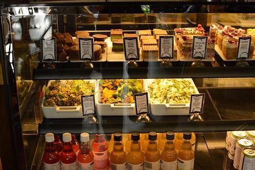 Treats, salads, kombucha