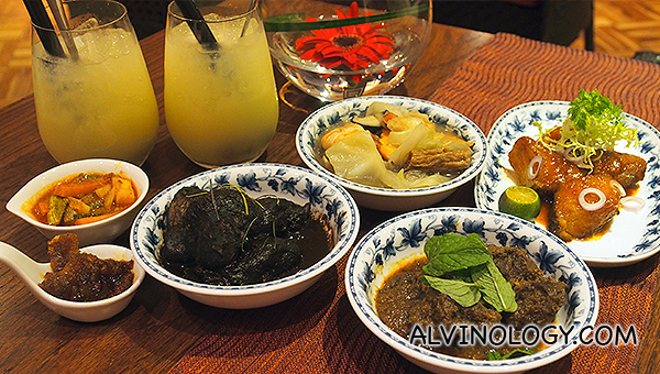 Mouthwatering spread of Peranakan delights