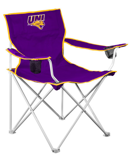Northern Iowa Panthers Deluxe TailGate/Camping Chair
