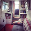 Will's cool houseboat digs. It's a great place! #OpenLondon