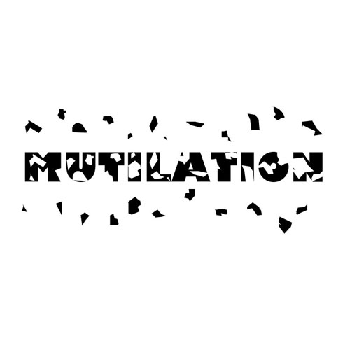 Typographic Expression: Mutilation
