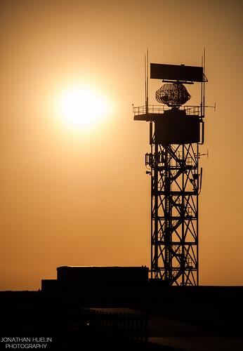 sun tower silhouette airport nikon aviation jersey channelislands radar d3000