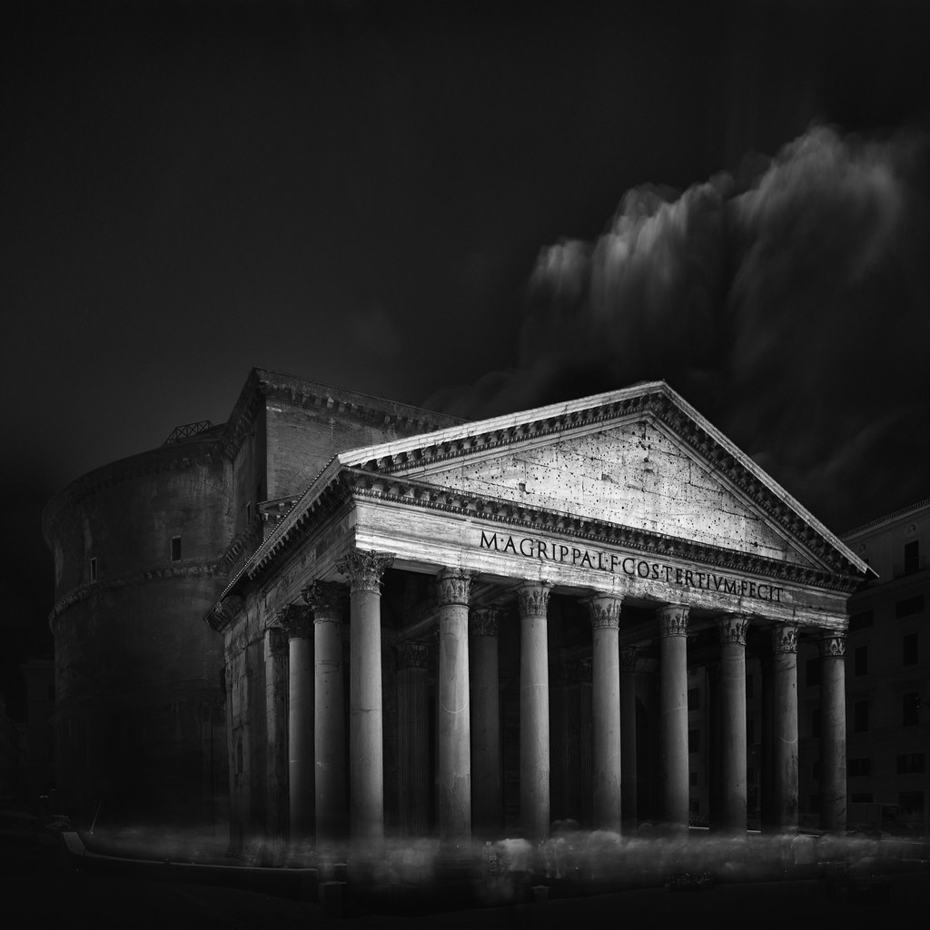 *Visual Acoustics XI - Silence and Light - Pantheon, Rome 2014 *