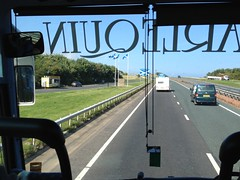 The Scottish border