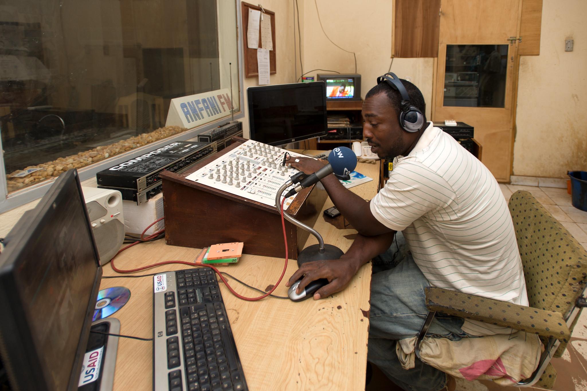 Niamey Radio DJ