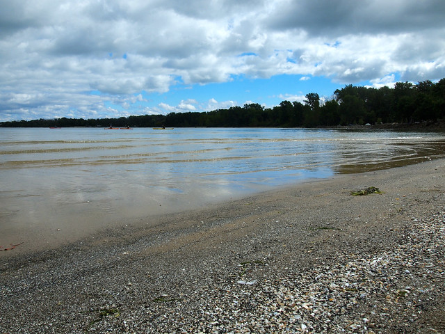 Beach at Kelleys Island State Park