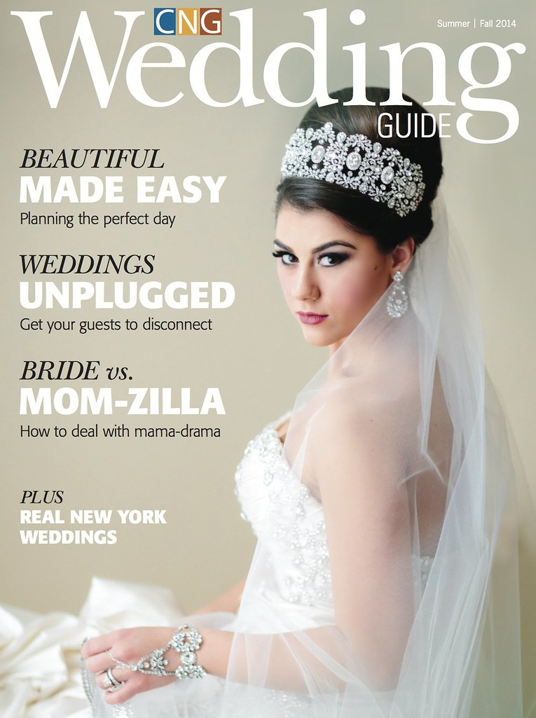 Wedding Guide Cover 2014 featuring Bridal Styles Boutique Bridal Accessories
