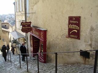 Flânerie gourmande à St Emilion