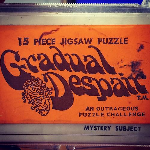 Outrageous puzzle challenge