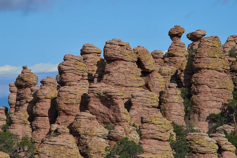 Standing up Rocks - Chiricahua National Monument