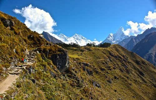 Lina, Everest, Lhotse, Amadablam