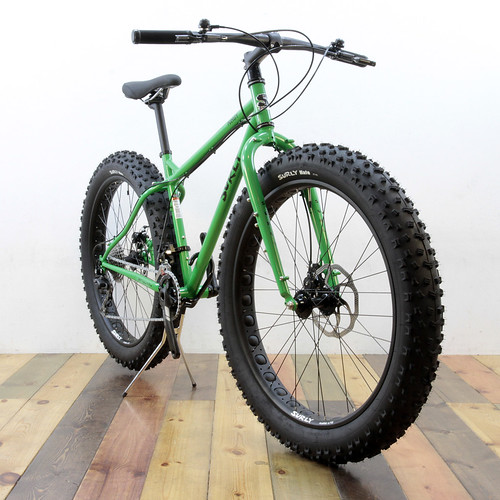SURLY / Pugsley Complete Bike / Grassy Green
