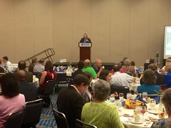 Maggie Sacra at Podium of Equality Breakfast 2013 - 2