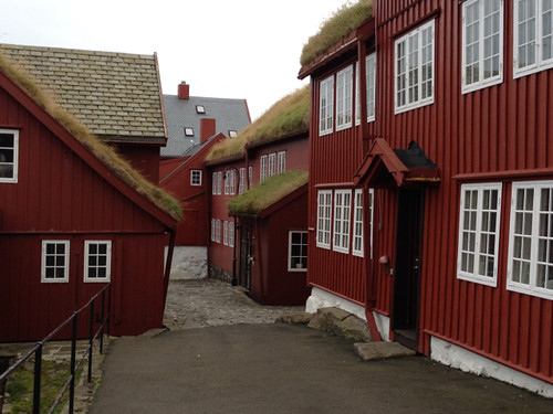 Faroe Islands - Thorshavn old town 3