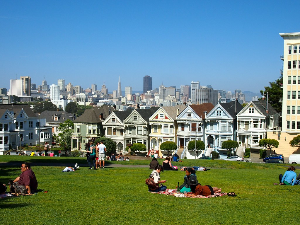 Alamo Square Park in San Francisco
