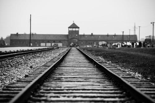 Auschwitz Birkenau Gate