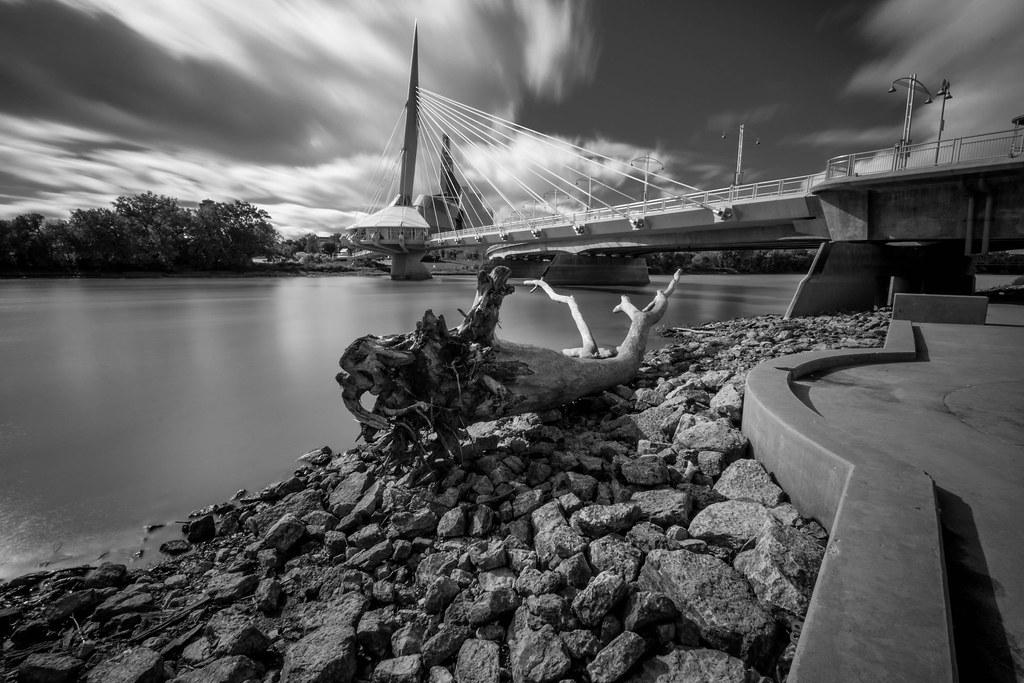 Esplanade Riel Bridge Winnipeg