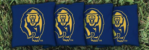 CALIFORNIA BERKELEY GOLDEN BEARS BLUE CORNHOLE BAGS