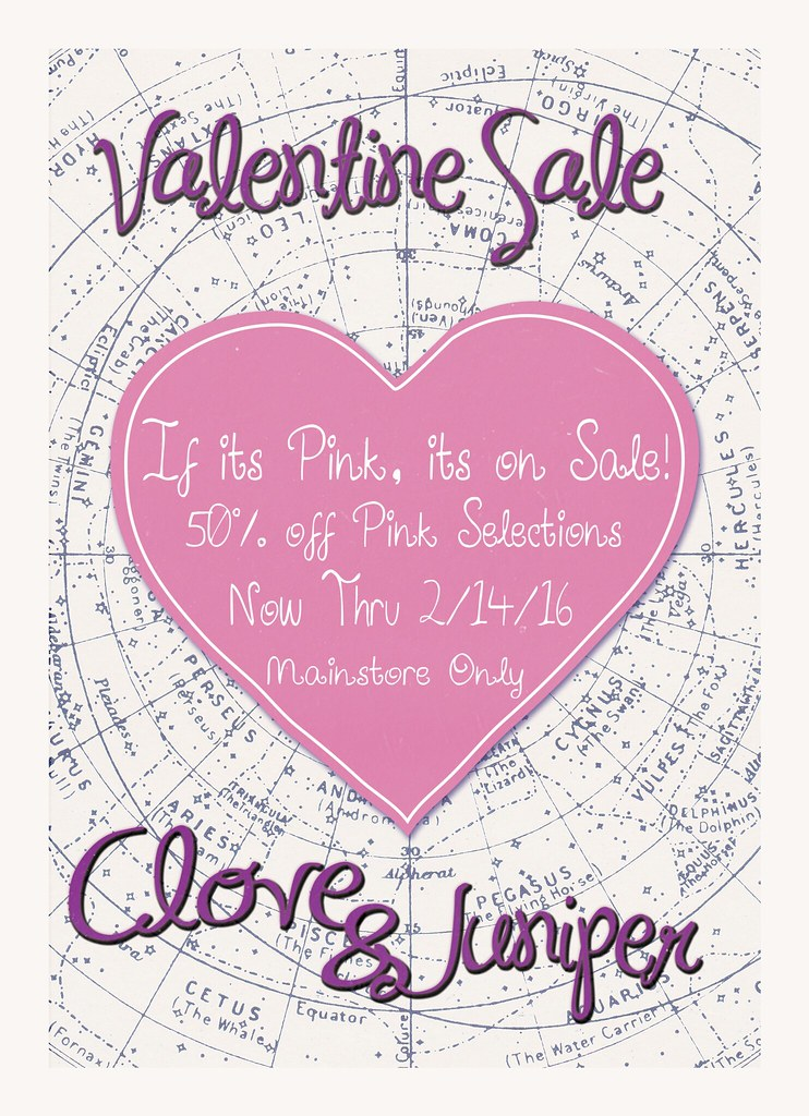 Valentine Sale @ Juniper! - SecondLifeHub.com