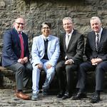 CSR Launch (1) - Tadhg Lucey, Dil Wickremasinghe, Ian Talbot, Theo Cullinane