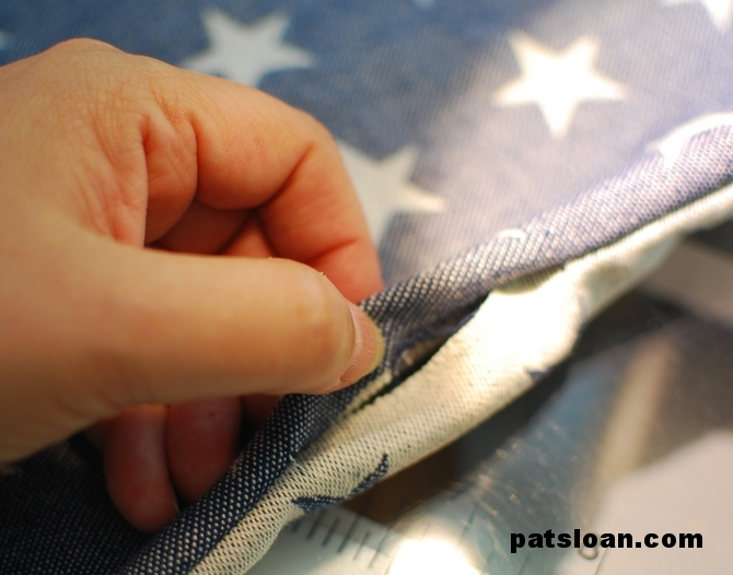 Pat Sloan Perfectly Fast Place Mat Tutorial Pat Sloan S