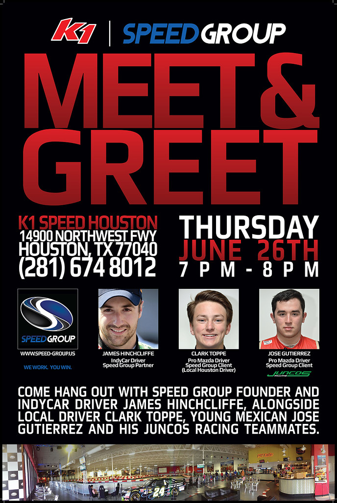 14275427170 9dd4fcba33 b K1/Speed Group Meet & Greet