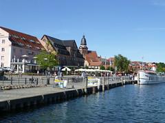 Hafenpromenade von Waren