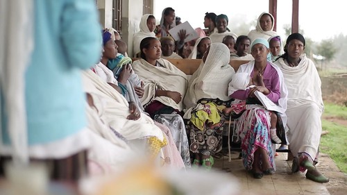 Health Extension workers in Amhara region provide preventive and curative health service to the community