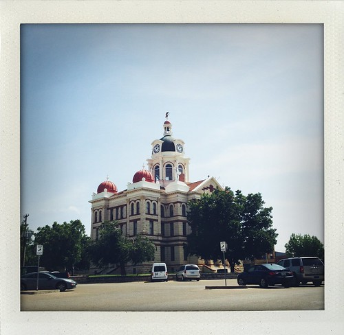 Gatesville, TX Courthouse