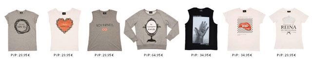 Camisetas Victoria Rockera con precios