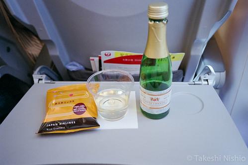 snack w/sparkling wine