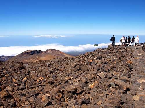 looking over Pico Viejo, Mount Teide, Tenerife