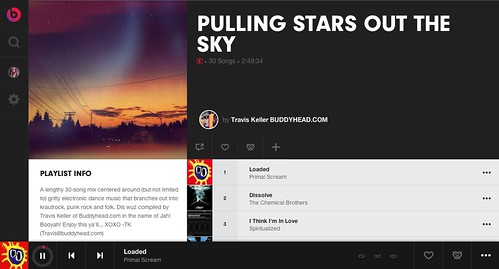 Listen to Pulling Stars Out of The Sky on Beats Music