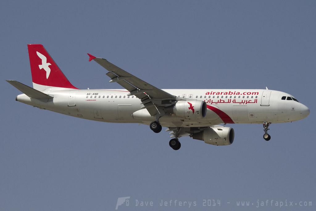 A6-ANB - A320 - Air Berlin