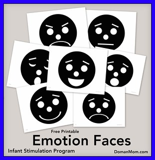 Free Emotion Faces (infant stimulation program)