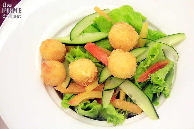 Fried Kesong Puti Ensalada (P145)