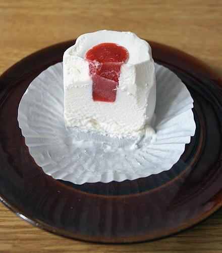 bofrost Erdbeer-Pannacotta Eis