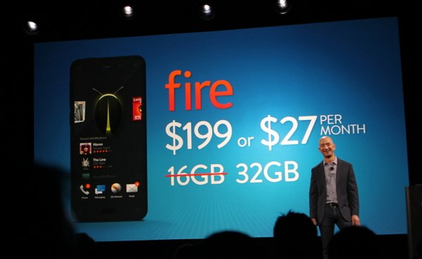 Дата выхода Amazon Fire Phone
