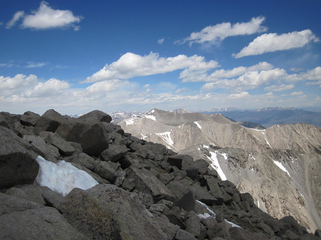 Picture from Mt. Shavano, Colorado