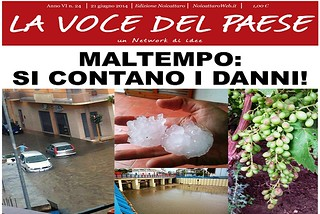 Noicattaro. Prima pagina n. 24-2014 front