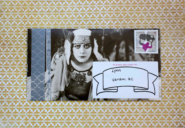 Black and White Outgoing mail, brinnertime.com