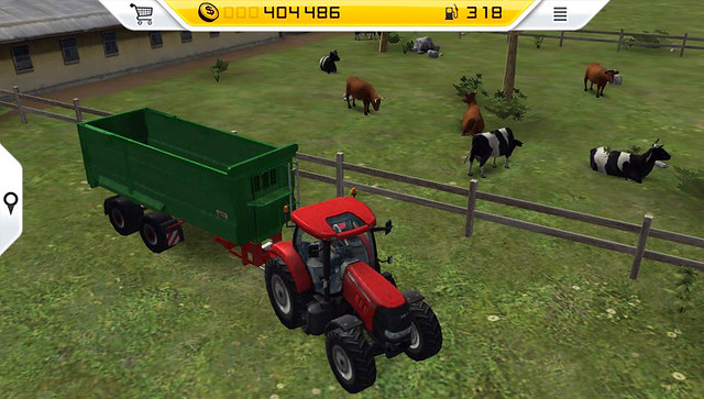 Farming Simulator '14 on PS Vita