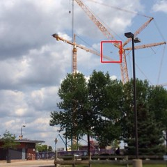 Saw what appeared to be a consumer-level #drone / #quad copter flying over the #Metrodome #construction site today. Is that safe? There's a medical helipad on HCMC's rooftop across the block.   #quadcopter #mn #vikings
