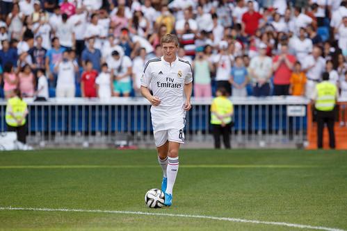 Presentacion de Toni Kroos en Real Madrid