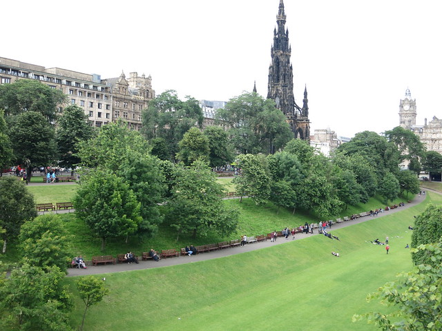 Princes St Gardens Edinburgh