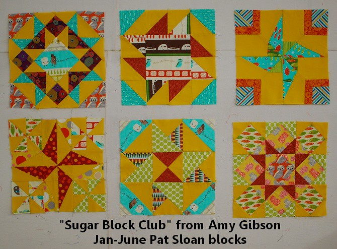 pat sloan sugar block jan to june